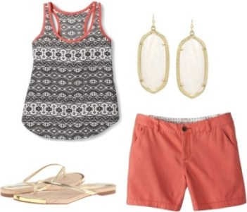 Summer Vacation Outfit 1