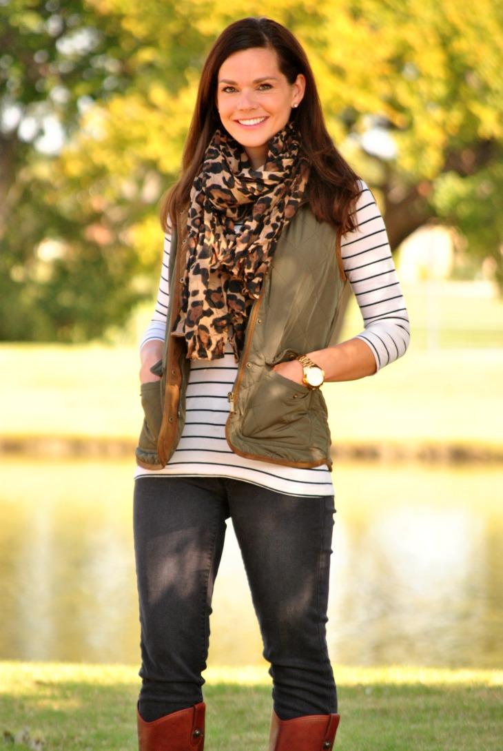 olive-puffer-vest-black-jeans