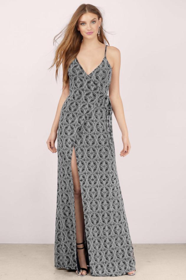 metallic-wrap-dress