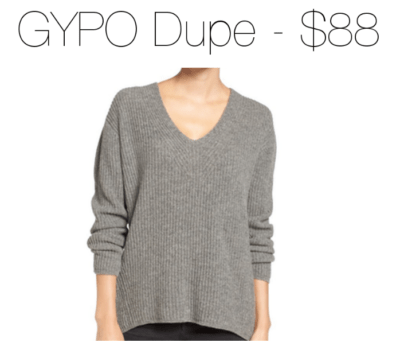 affordable-goop-substitute-gray-v-neck