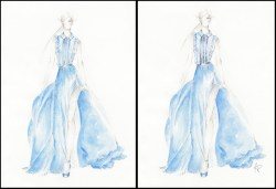 Inspired by Elie Saab's RTW collection SS 2013 - 2
