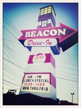 On our way to the cabin we stopped off at the Beacon Drive-In for some amazing greasy goodness!