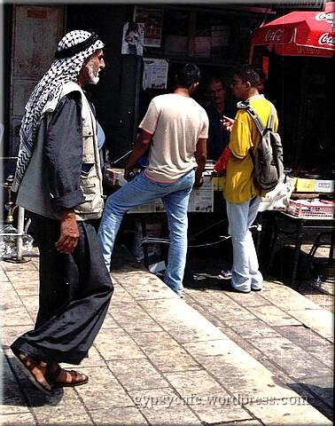 East Jerusalem Resident, Israel, 2002