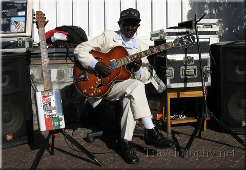 Guitar Player, Waterfront, Cape Town,