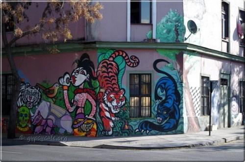Santiago Street Art (4), Chile, June 2015