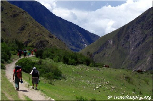 Inca Trail View 3