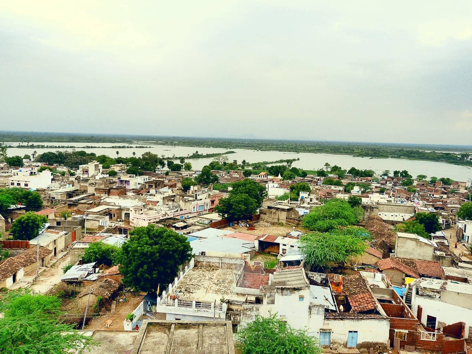 View from Daikola Fort