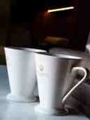 Coffee cups to herald the morning