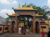 Bylakuppe Monastery in Coorg