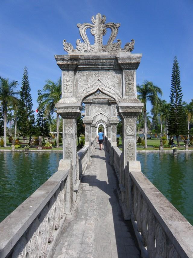 Ujung Water Palace.
