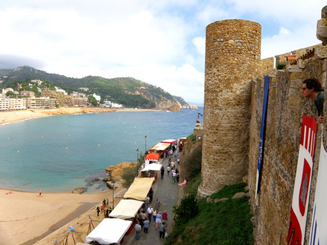 castle tossa de mar spain