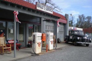 Wallys Service Station web