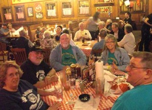 Russel Gang visit Famous Daves