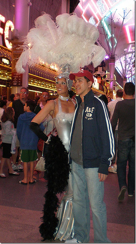 Showgirl and kid 2