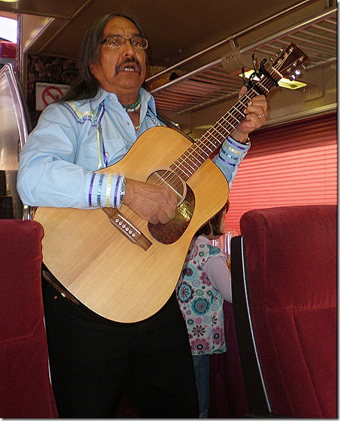 Clarence Clearwater singing