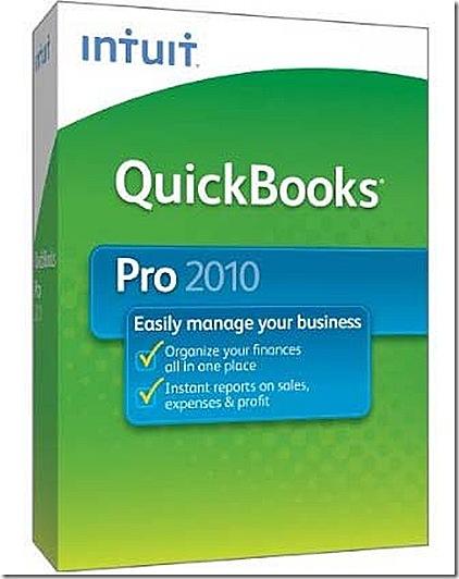 QuickBooks Pro 2010