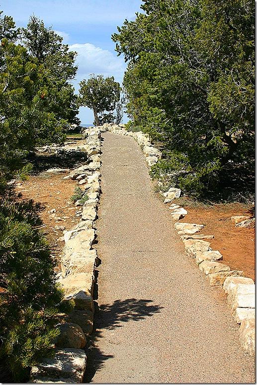 Rim Trail steep