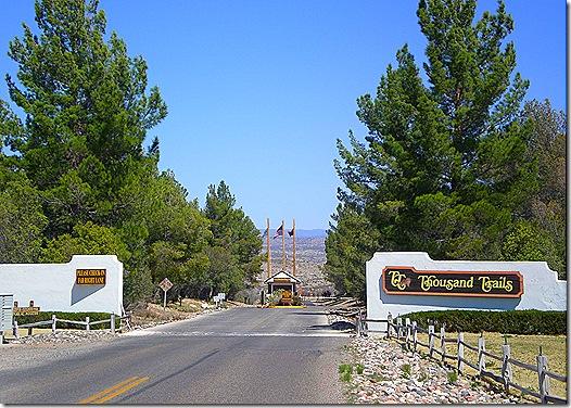 TTN Verde Valley entrance 2