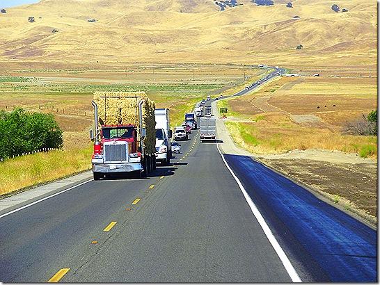 California Highway 46 hill