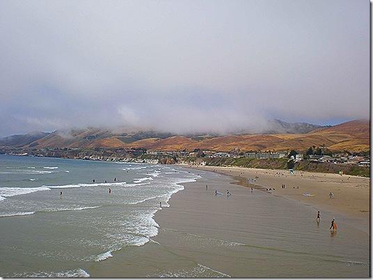 Cloudy beach 2
