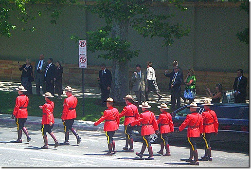 Mounties Marching 2