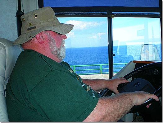 Nick on Mackinac Bridge 2