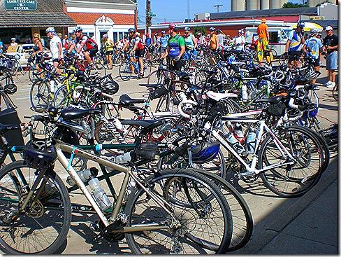 Ragbrai bikes