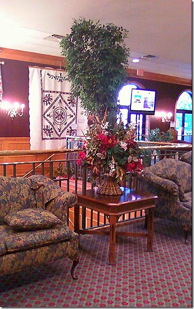 Shady Maple lobby
