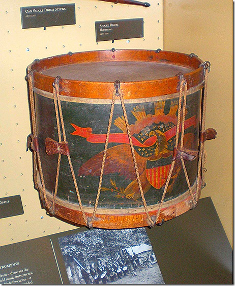 Visitor Center Museum drum