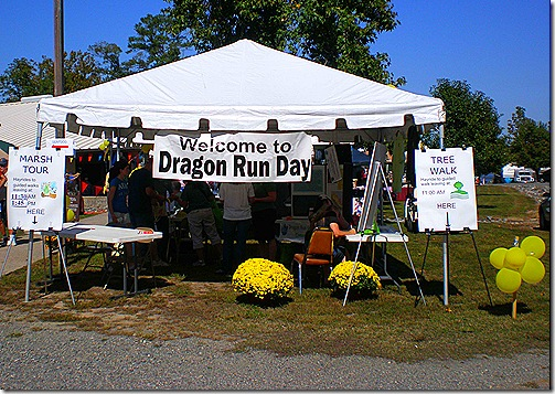Dragon Run tent