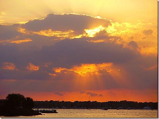 Titusville sunset