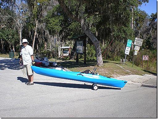 Denny kayak roller