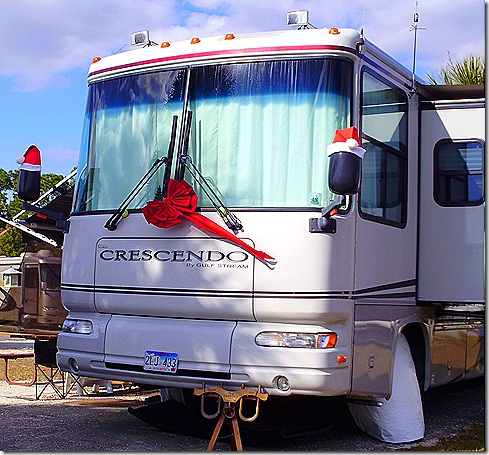 RV with bow