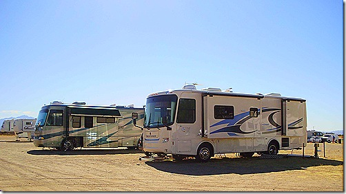 Pima Countyu Fair RV park 2