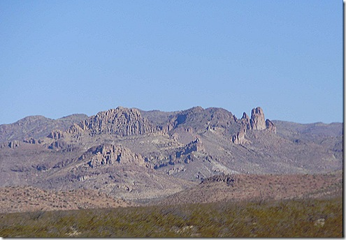 Southern Arizona mountains 3