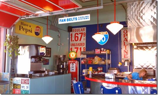 Bings Burger Station inside