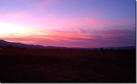 Verde Valley sunset