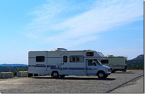 Chuckchansi Casino RVs