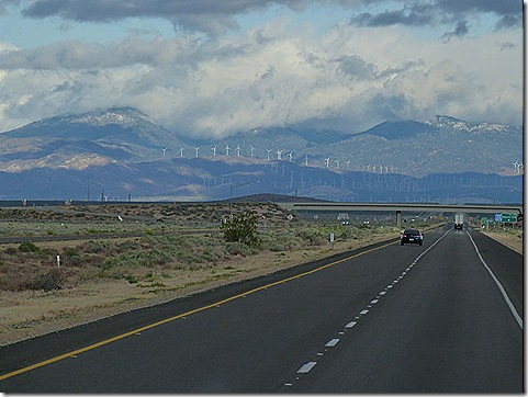Clouds and wind farm 2