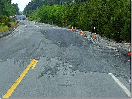 Highway 101 rough road 3