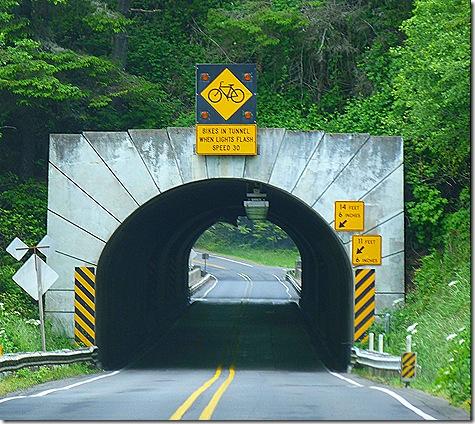 Highway 101 tunnel