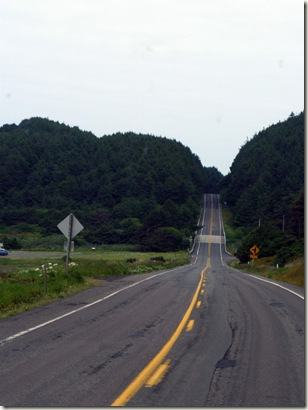 Long stretch US 101