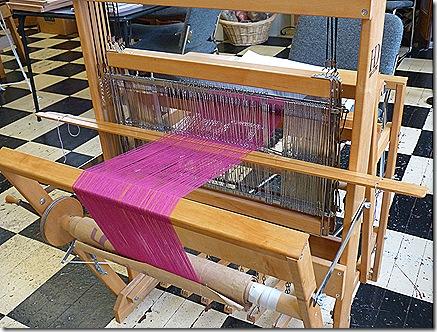 Loom loaded