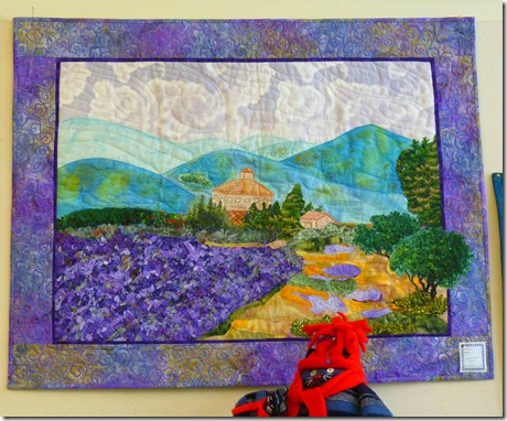 Quilt on display 3