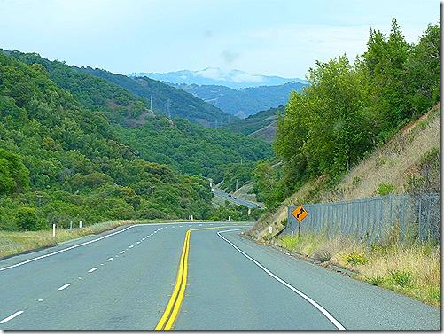 Route 20 downhill 2