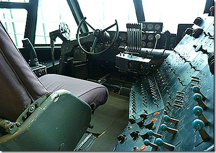 Spruce Goose cockpit