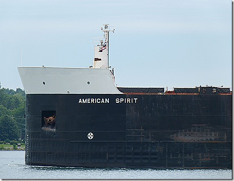 American Spirit bow