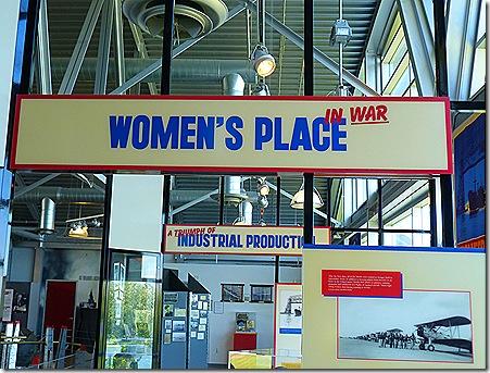 Bond Museum womens sign