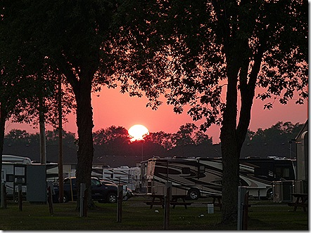 Elkhart Campground sunset