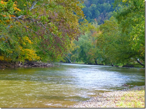 Downriver view